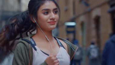 Sridevi Bungalow Controversy: Priya Prakash Varrier Defends Her Movie, Says 'Curiosity Surrounding the Trailer Is Good'